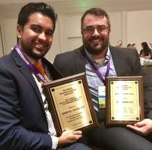 Drs. Grajo and Meiers receive awards at FRS
