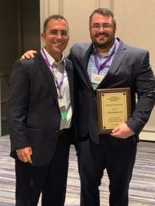 Dr. Meiers receives award