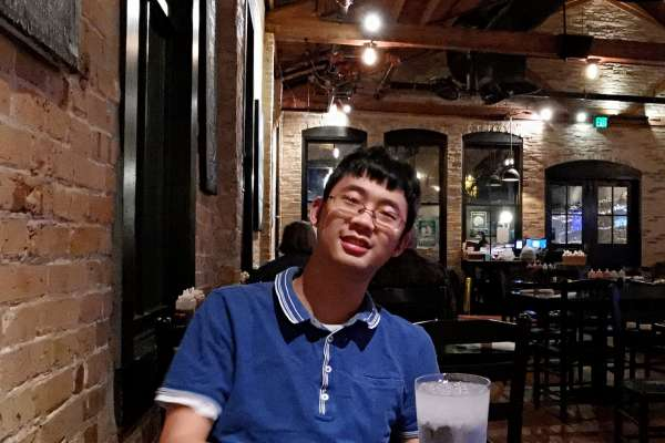 Doctor Yifei Chen dines out in Gainesville