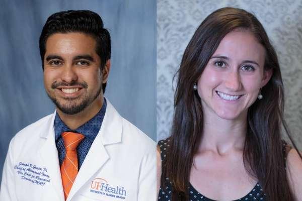 Headshots of Doctors Joseph Grajo and Laura Magnelli
